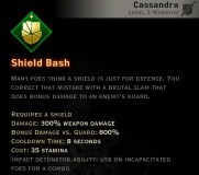 Dragon Age Inquisition - Shield Bash Weapon and Shield warrior skill