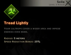 Dragon Age Inquisition - Tready Lightly Sabotage rogue skill