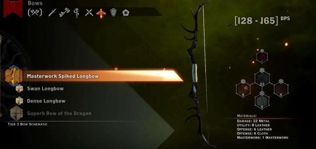 masterwork spike longbow