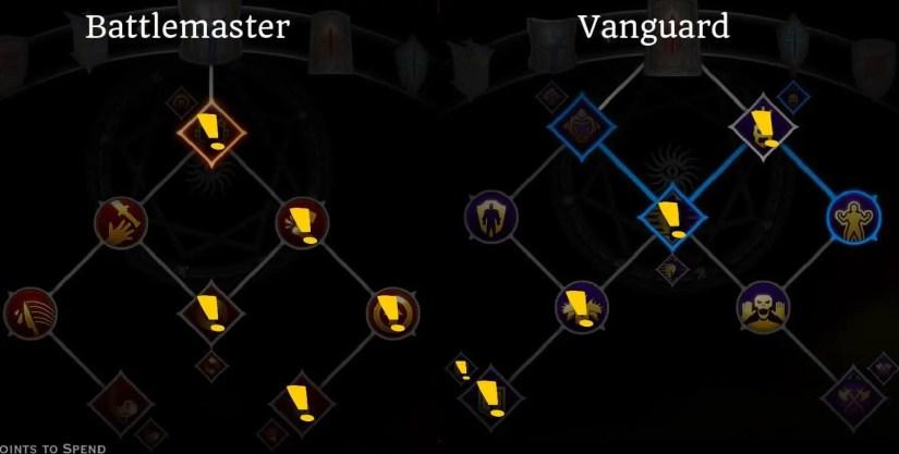 dragon age inquisition - templar skill build