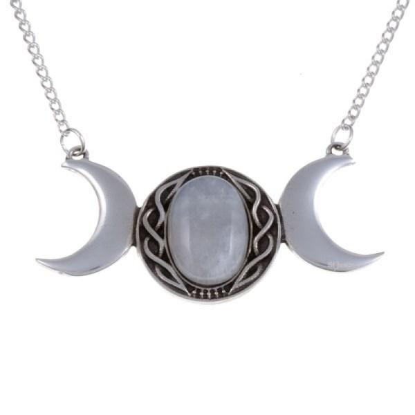 Triple Moon Necklace- Stunning