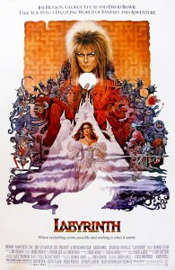 Labyrinth movie poster 1986