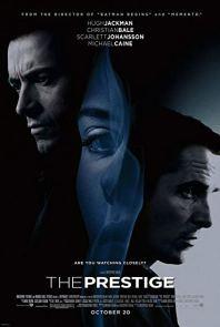 The Prestige movie poster