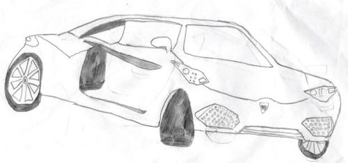 small resolution of mini cooper hand drawn cars pencil sketches of cars hand drawn lamborghni