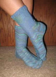 Jaywalker socks in Lornas Laces 02sm