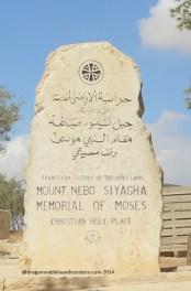 Moses Memorial Stone