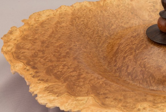 Brown Mallee Burl Natural Edge