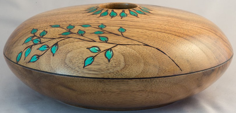 English Walnut Hollow Form