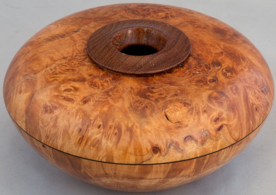 Walnut Burl Hollowform