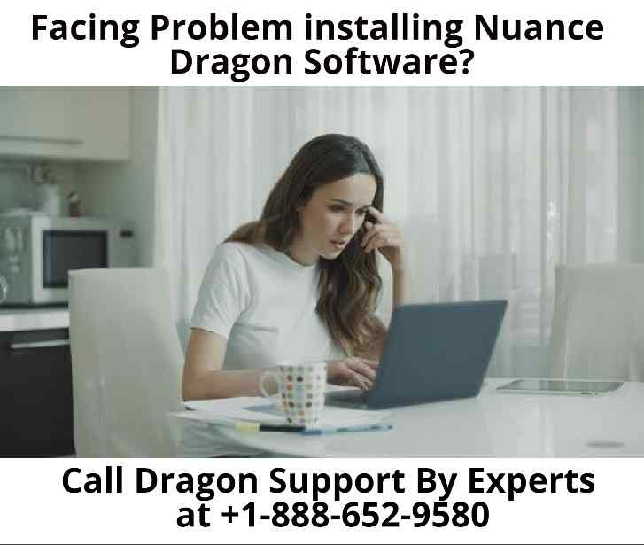 Problem installing Nuance Dragon Software