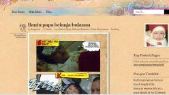 Blognya Nisa, anak ke3