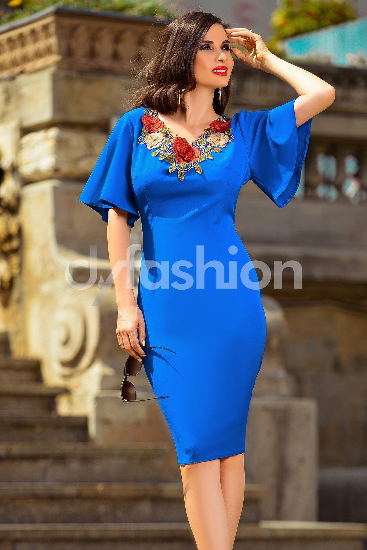rochie-fausta-albastra-de-ocazie-midi-cu-broderie-24554-4