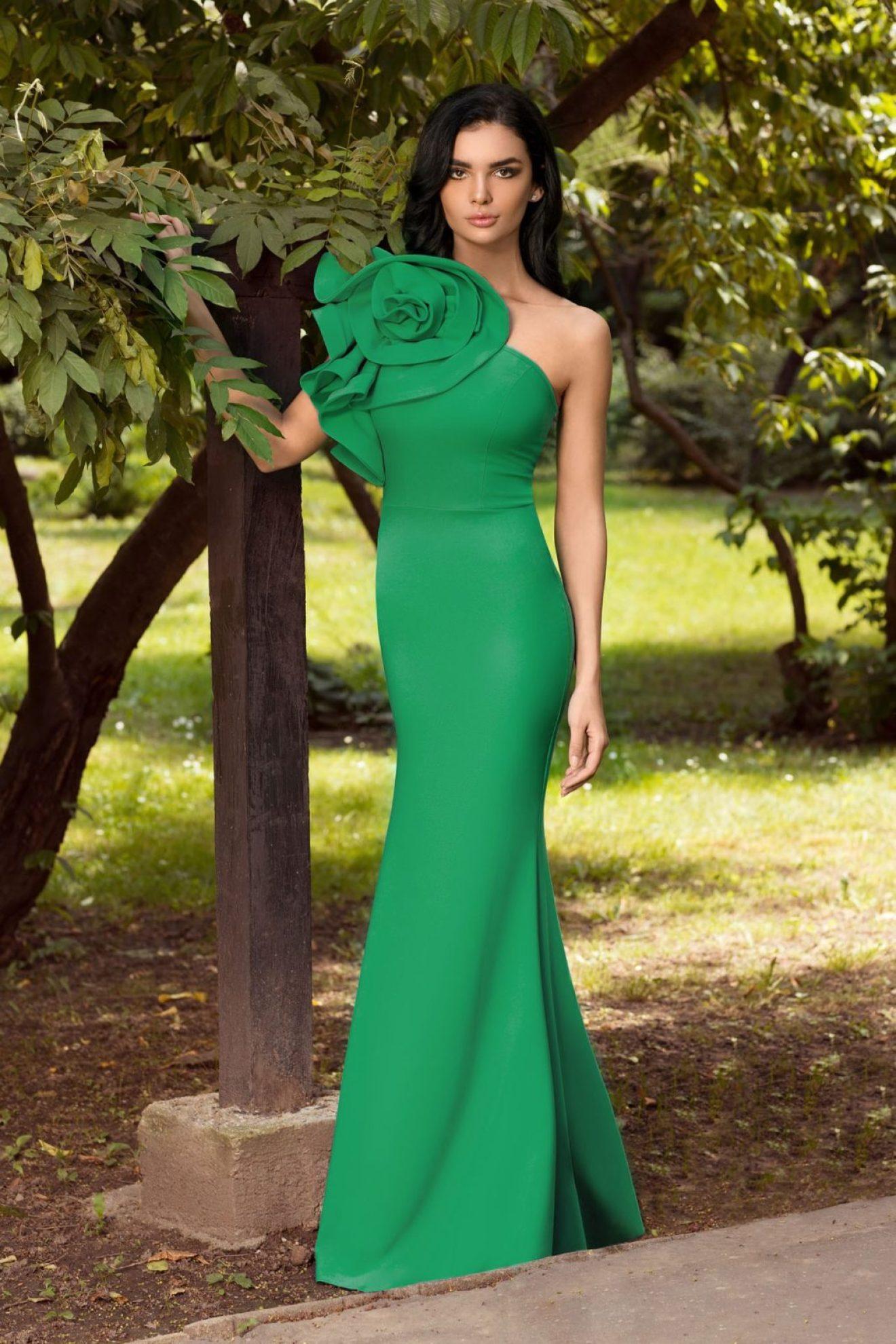 rochie_de_seara_tip_one_shoulder_verde