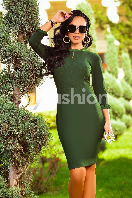 rochie-riana-verde-office-midi-eleganta-24635-4
