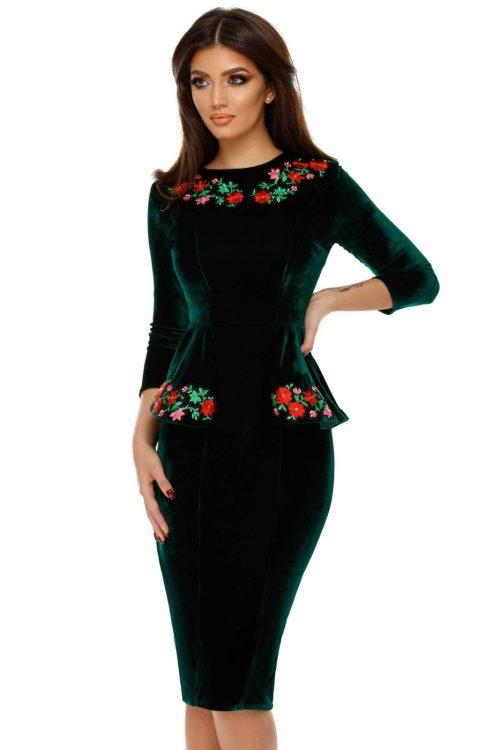 rochie-amara-verde