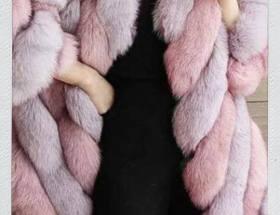haina dama din blana artificiala