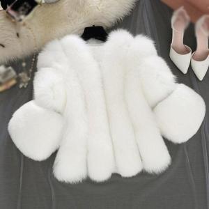 haine dama din blana artificiala