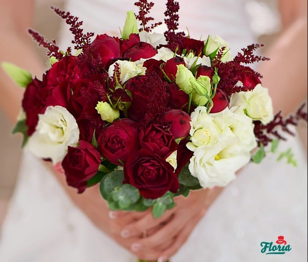 Buchet De Mireasa Cu Trandafiri Si Frezii Smart Shopping Online