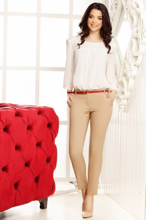 Pantaloni Filipa Cream
