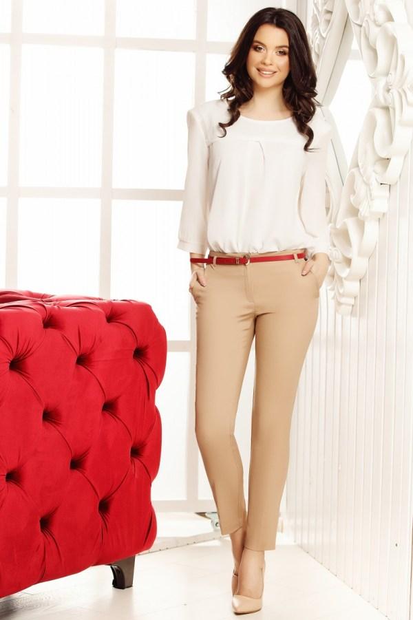 Pantaloni Filipa Cream
