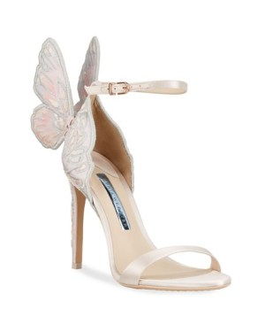 Sophia Webster Chiara Butterfly Wing Bridal Sandals