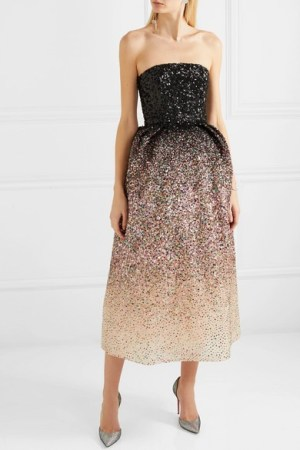 Ong-Oaj Pairam - Ofelia Sequined Silk-organza Gown - Pink