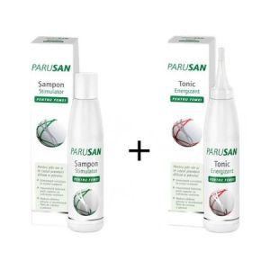 Pachet promo Parusan Sampon stimulator 200 ml Tonic energizant 200 ml