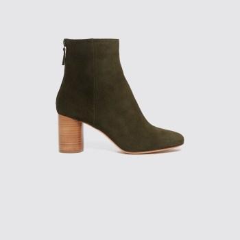 Pantofi verzi-masliniu