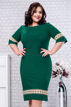 Rochie Stilizata Cu Motive Traditionale Darlene 3 Smart Shopping