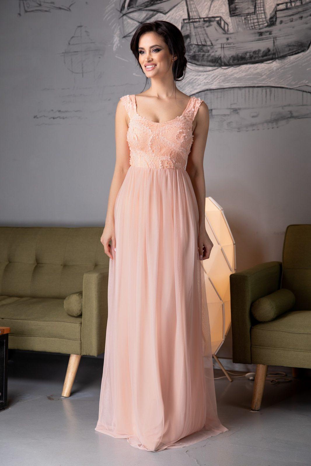Rochie De Seara Eleganta Din Tull Smart Shopping Online