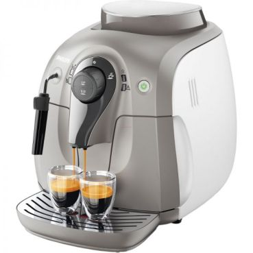 Espressor automat Philips HD8651/19, 1400W, 15 Bar, 1 l, Alb-Gri