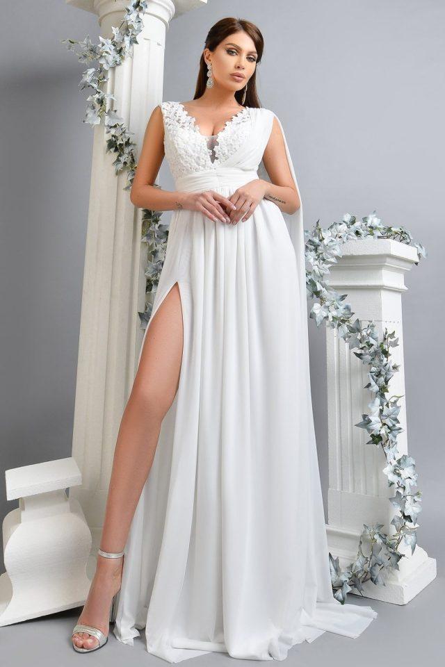Rochie de mireasa din voal