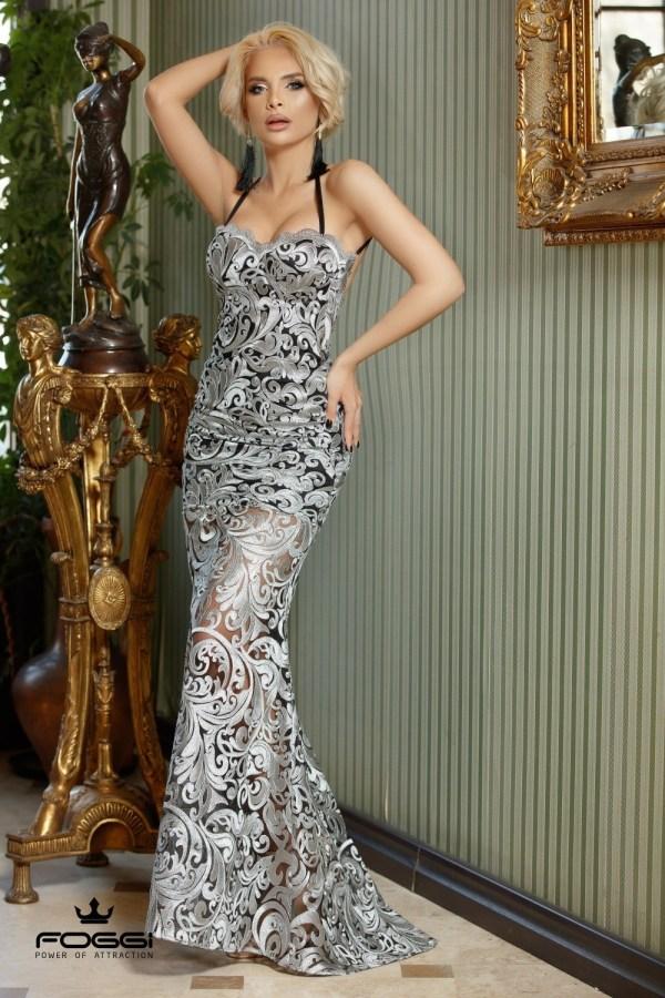 Rochie eleganta de seara tip sirena