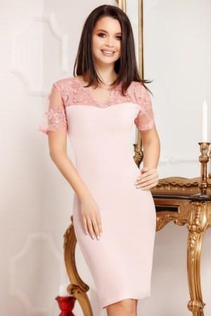 Rochie eleganta de zi plus size