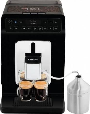 Espressor automat Krups Evidence EA893810 Ecran Led 2.3L 1450W 15 Bari 15 retete Bluetooth EA893810