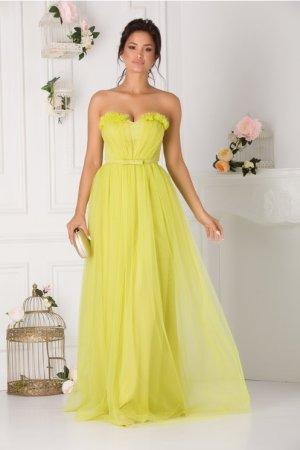 Rochie de ocazie lunga eleganta din tulle