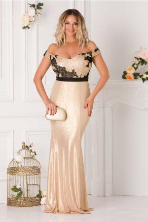 Rochie de seara lunga tip sirena