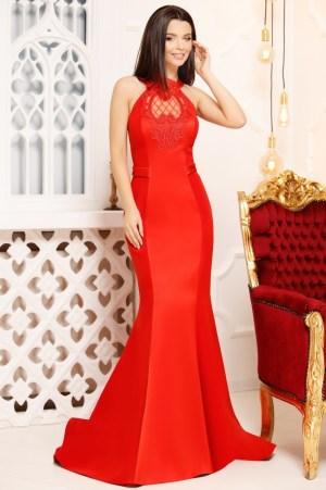 Rochie de seara lunga eleganta tip sirena