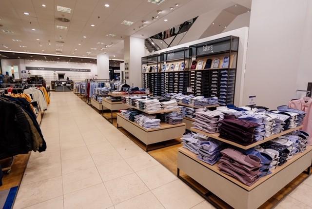 Peek & Cloppenburg – un nou design al magazinului din Băneasa Shopping City