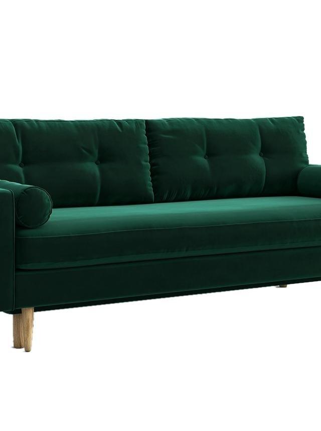 Canapea extensibila 3 locuri Esme Riviera Green