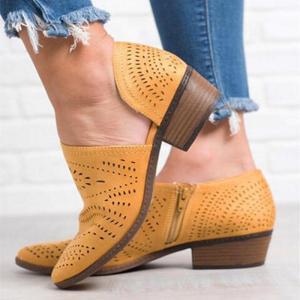 Pantofi mustar tip sanda