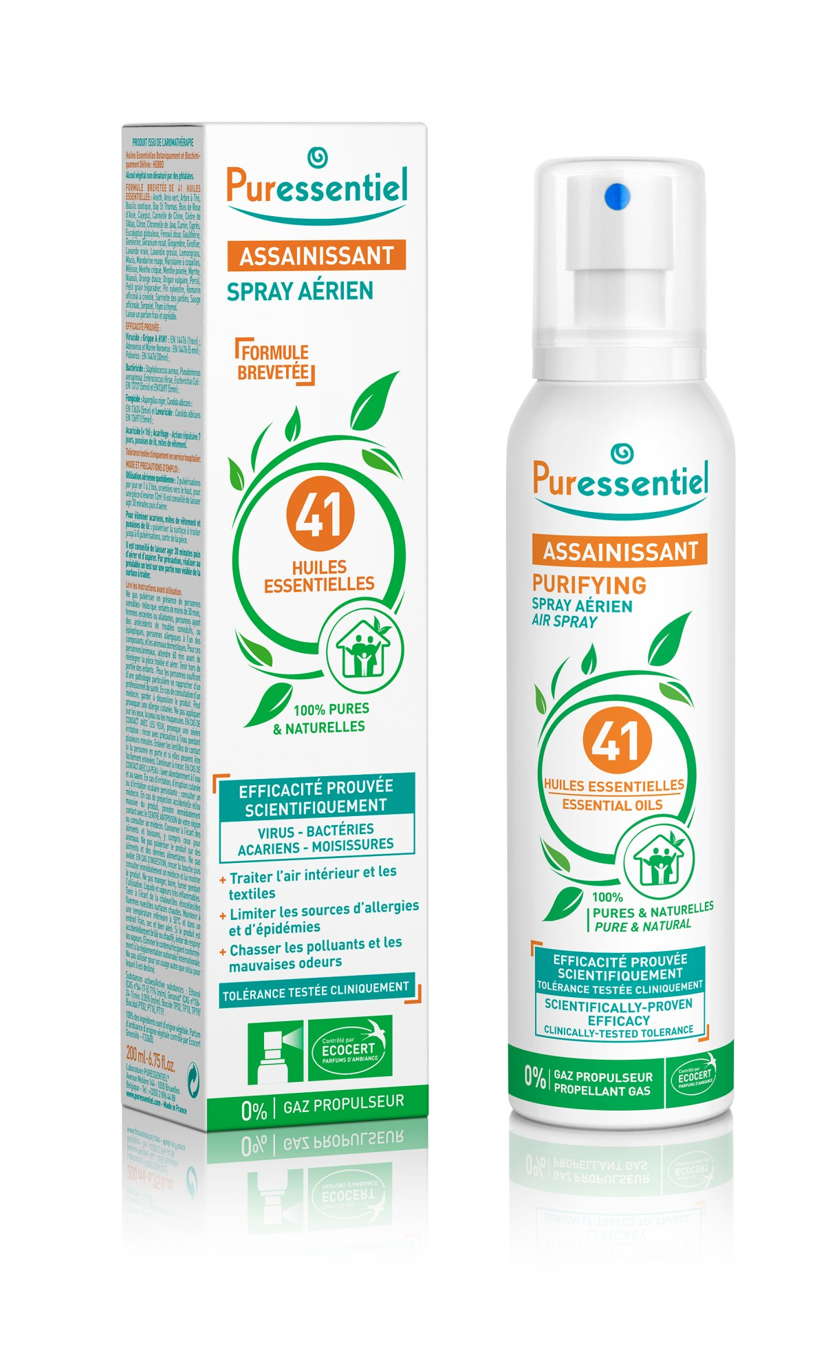 Puressentiel Purifying Air Spray with 41 essential oils - 200 ml