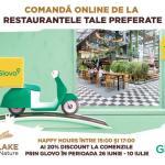 Cu ParkLake și Glovo ai 20% discount la comenzile pentru acasă!
