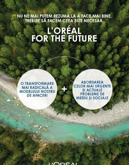 Grupul L'Oréal anunță noi obiective ambițioase de sustenabilitate pentru anul 2030