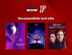 Iulie este luna super-producțiilor și a premierelor la Film Now
