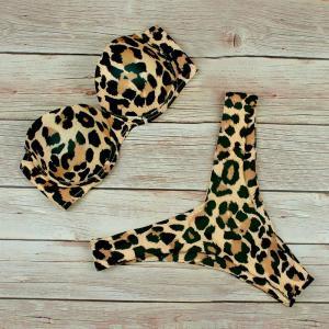 Costum de baie cu imprimeu leopard Neer