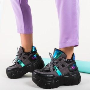 Pantofi sport din piele eco