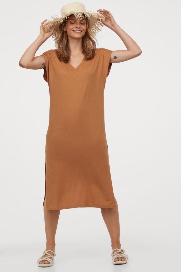 Rochie-caftan de jerseu H&M