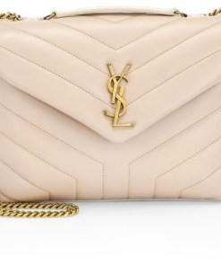 Saint Laurent Small Loulou Matelassé Leather Shoulder Bag