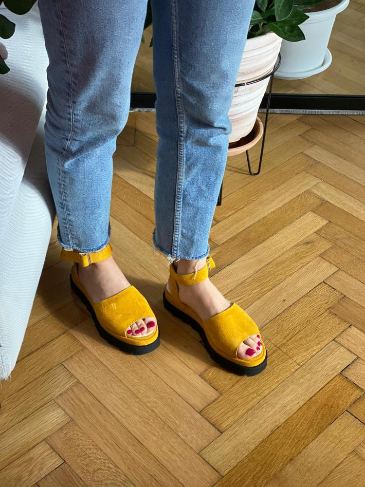 Sandale Nataly Yellow